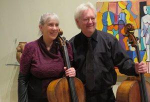 Schultze-Ericsson Cello Duo - Winter Music Series @ North Truro | Massachusetts | United States