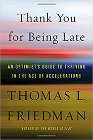 Truro Library Book Group -- Thank You for Being Late by T. Friedman @ Truro Public Library | North Truro | Massachusetts | United States