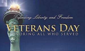 Veteran's Day: Truro Library Closed