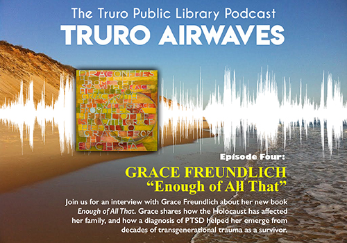 Promotional image for the Grace Freundlich podcast