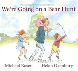 Book Cover: We're Going on a Bear Hunt by Michael Rosen, Illustrated by Helen Oxenbury
